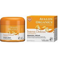 קרם ייחודי פנים ויטמין C מחדש אבלון אורגניקס 57 גרם - מבית Avalon Organics