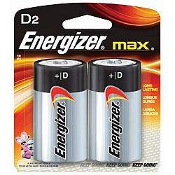 אנרג'ייזר - סוללות D - מבית Energizer