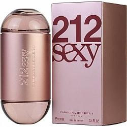 """בושם לאישה סקסי 212 sexy אדפ 100 מ""""ל קרולינה הררה מבית Carolina Herrera"""
