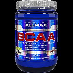 חומצות אמינו BCAA יחס 2-1-1, 400 גרם מבית ALLMAX