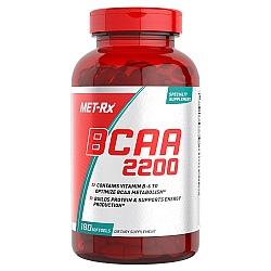 BCAA חומצות אמינו 2200 ויטמין B-6 וE - כמות 180 כמוסות מבית MET-RX