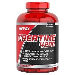 """קריאטין 4200 מ""""ג - כמות 240 כמוסות מבית MET-RX"""