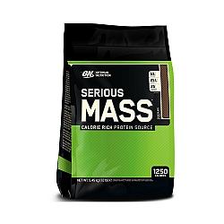 """אבקת גיינר אופטימום סיריוס מאס 5.5 ק""""ג  טעם שוקו - מבית Optimum Nutrition"""