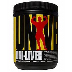 Uni-Liver מנקה והגנה כבד 250 טבליות - מבית Universal Nutrition