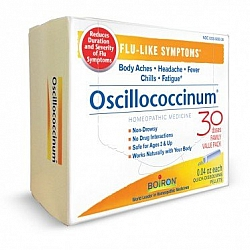 אוסילו - אוסילוקוקסינום Oscillococcinum - תכולה 30 מנות מבית BIORON
