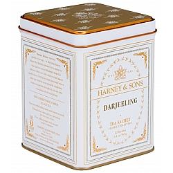 תה הודי דארג'ילינג Darjeeling בפחית 40 גרם 20 שקיות - מבית Harney & Sons