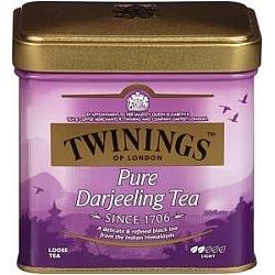 תה הודי טווינינגס דארג'ילינג Darjeeling בפחית 100 גרם - מבית Twinings