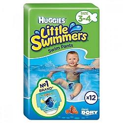 """האגיס ליטל סווימרס בגד ים חד פעמי לים ולבריכה לתינוקות 7-15 ק""""ג מידה S/M"""