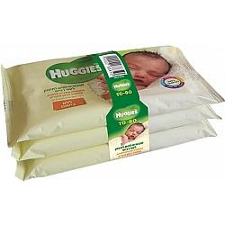 האגיס מגבונים לחים לתינוק TO GO אלוורה לעור רגיש ללא בישום - מארז שלישייה