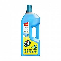 סיף נוזל לניקוי רצפות וכללי בניחוח מרכך כביסה 5 ב1 - 1.85 ליטר - מבית CIF