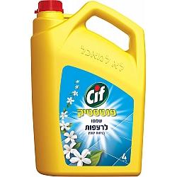 סיף נוזל לניקוי רצפות ניחוח יסמין פנטסטיק 4 ליטר - מבית CIF
