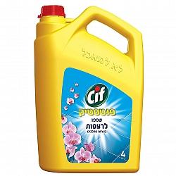 סיף נוזל לניקוי רצפות ניחוח סחלבים פנטסטיק 4 ליטר - מבית CIF