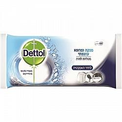 דטול מטליות לחות לחדר האמבטיה 60 יחידות - Dettol