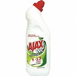 """אג'קס ג'ל עם אקונומיקה בניחוח רענן 750 מ""""ל - מבית AJAX"""
