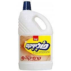 סנו פוליוויקס נוזל לניקוי קרמיקה - 2 ליטר
