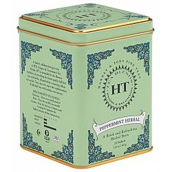 תה מנטה חריפה HT נטול קפאין בפחית 40 גרם 20 שקיות - מבית Harney & Sons