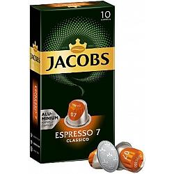 ג'ייקובס קפסולות קפה אספרסו קלאסיקו חוזק 7 - 10 קפסולות