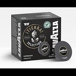 קפסולות קפה טיירה Tierra חוזק 9 לוואצה 16 יחידות