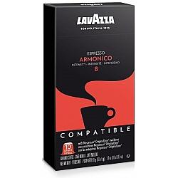 קפסולות קפה Armonico חוזק 8 לנספרסו 10 יחידות לוואצה