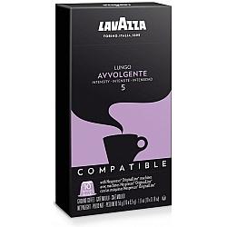 קפסולות קפה Avvolgente חוזק 5 לנספרסו 10 יחידות לוואצה