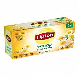 ליפטון תה קמומיל ללא קפאין 20 שקיקים