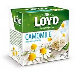 חליטת קמומיל לויד 20 שקיות תה פירמידה - LOYD