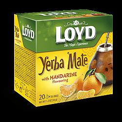 תה ג'רבה מטה בטעם מנדרין לויד 20 שקיות תה פירמידה - LOYD