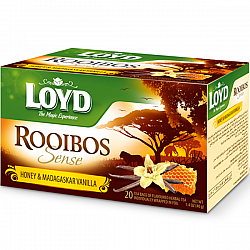 תה רויבוש בטעם דבש ווניל לויד 20 שקיות תה - LOYD