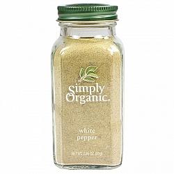 אבקת פלפל לבן אורגני 81 גרם - Simply Organic