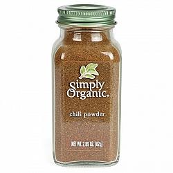 אבקת צ'ילי אורגני 82 גרם - Simply Organic