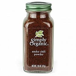 אבקת צ'ילי אנצ'ו אורגני 81 גרם - Simply Organic