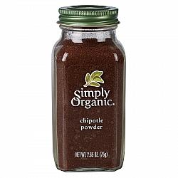 אבקת צ'יפוטלה אורגני 75 גרם - Simply Organic