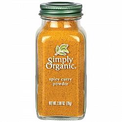 אבקת קארי חריפה אורגני 79 גרם - Simply Organic