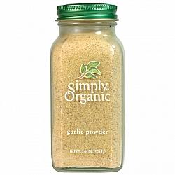 אבקת שום אורגני 103 גרם - Simply Organic