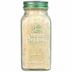 אבקת שום ומלח ים אורגני 133 גרם - Simply Organic