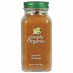אגוז מוסקט טחון אורגני 65 גרם - Simply Organic
