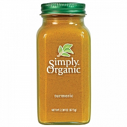 כורכום אורגני 67 גרם - Simply Organic