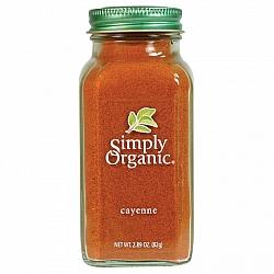 פלפל קאיין אורגני 82 גרם - Simply Organic