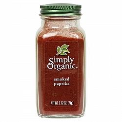 פפריקה מעושנת אורגנית 77 גרם - Simply Organic
