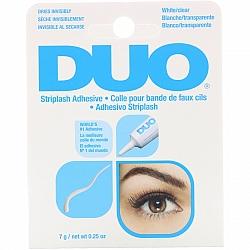דואו דבק ריסים לבן שקוף 7 גרם - מבית DUO