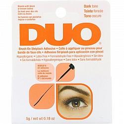 דואו דבק ריסים להברשה כהה 5 גרם - מבית DUO