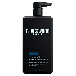 """שמפו מעניק לחות Hydroblast לגבר - 448 מ""""ל - מבית Blackwood For Men"""