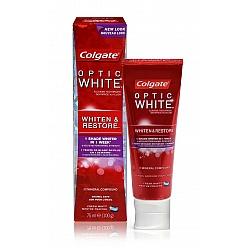 """קולגייט אופטיק וייט משחה לשיניים חזקות ובהירות מדי יום 75 מ""""ל - מבית Colgate"""