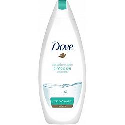 """דאב תחליב רחצה עם מים מיסלריים מתאים לעור רגיש היפואלרגני 500 מ""""ל - מבית DOVE"""