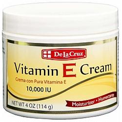 קרם ויטמין E פנים 114 גרם - De La Cruz