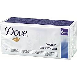 דאב אל סבון מוצק מכיל 25% לחות 6 יחידות - מבית DOVE