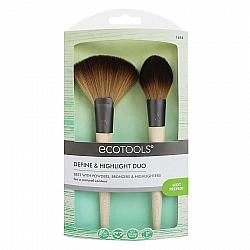 אקוטולס צמד מברשות להארות והצללות EcoTools Define & Highlight Duo