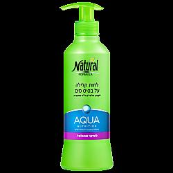 """נטורל פורמולה לחות קלילה על בסיס מים לשיער מתולתל 400 מ""""ל - מבית NATURAL FORMULA"""