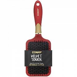 מברשת מברשת שיער להתרת קשרים ולעיצוב - Velvet Touch - מבית Conair