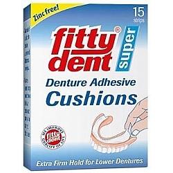 רפידות הצמדה לשיניים תותבות 15 טבליות - מבית Fittydent